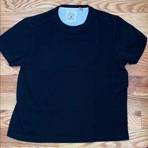 Tasso Elba Black Island Short Sleeve Shirt
